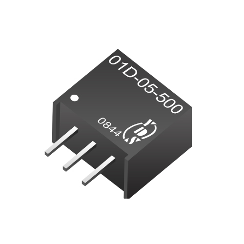 01D-500 Series Non Isolation 0.75 ~7.5W DC-DC Converters(Switching Regulator)