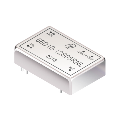 68D10 Series 10W 1.5KV Isolation 2:1 DC-DC Converter