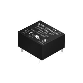 GA5E Series 1~5W 3KVac Isolation Regulated Output AC-DC Converter (Module)