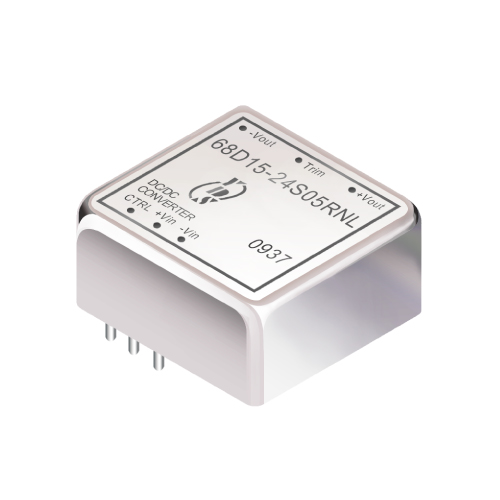 68D15 Series 15W 1.5KV Isolation 2:1 DC-DC Converter