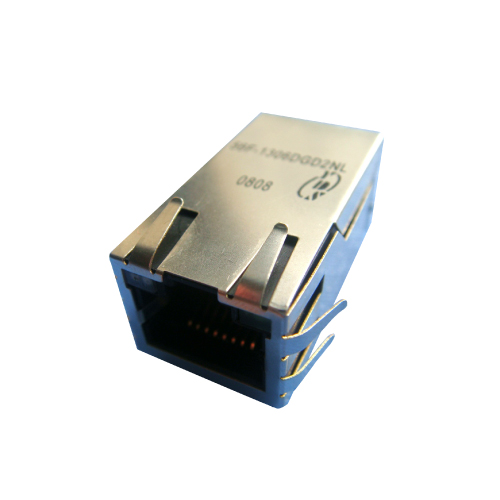56F(10G PoE) Series Single Port 10G Base-T PoE & PoE+ RJ45 Jack With Magnetics