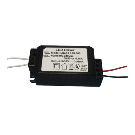 LGA10 Series 3~10W 3KVac Isolation PFC LED Driver